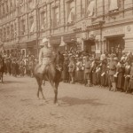 At the victory parade for the War of Liberation in Helsinki on 16.5.1918.