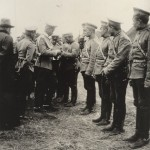 Awarding crosses of St. George at the front in 1914.
